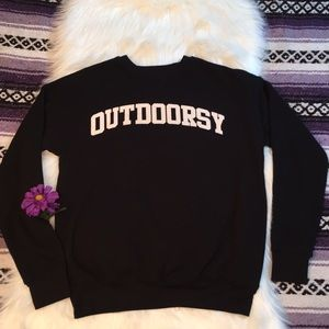 Sweaters - THE ADVENTURE PROJECT- outdoorsy- funny sweater